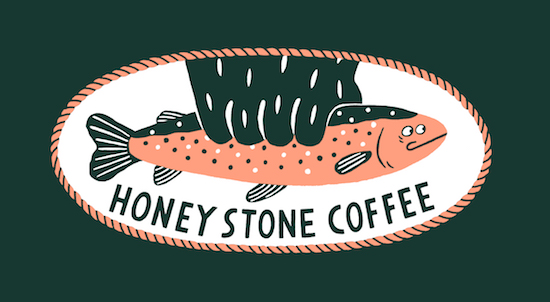 「HONEY STONE COFFEE」